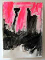 Abstract-No10-2008-700mm-x-505mm-Acrylic-and-mixed-media-on-paper
