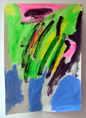 Abstract-No11-2008-700mm-x-505mm-Acrylic-and-mixed-media-on-paper
