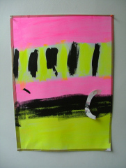Abstract-No16-2008-700mm-x-505mm-Acrylic-and-mixed-media-on-paper