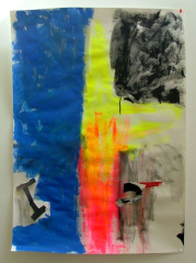 Abstract-No5-2008-505mm-x-700mm-Acrylic-and-mixed-media-on-paper
