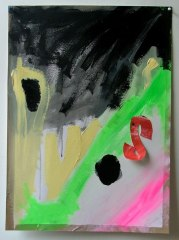 Debenhams-Style-20�-off-everything-2008-700mm-x-505mm-Acrylic-and-paper-on-paper