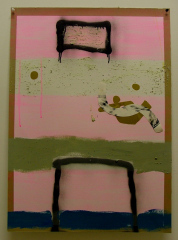 Extreme-Vids-2008-700mm-x-505mm-Acrylic-and-mixed-media-on-paper