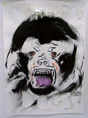 Copy-of-Dangerous-Dogs-2008-Acrylic-on-Paper