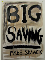 Free-Smack-2008-Acrylic-on-Paper