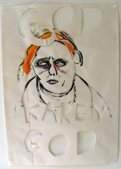 God-Karen-God-Acrylic-on-Paper-83cm-x-59cm-2008