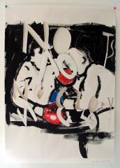 Hitman-Hatton-Acrylic-on-Paper83cm-x-59cm-2008