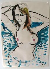 Jenny-21-Acrylic-on-Paper-83cm-x-59cm-2008