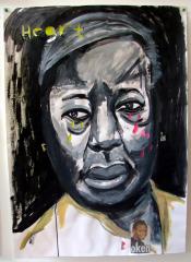Mum-Acrylic-on-Paper-83cm-x-59cm-2008