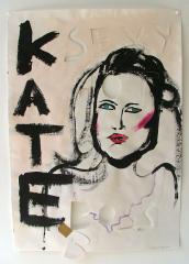 Sexy-Kate-Acrylic-on-Paper-83cm-x-59cm-2008