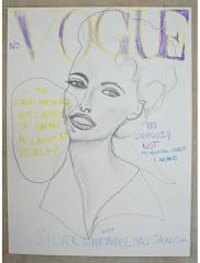 NO-VOGUE-EVANGELISTA-2012-350mm-x-270mm-Mixed-media-on-paper