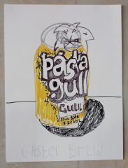 EASTER-BREW-2013-Various-sizes-Mixed-media-on-paper