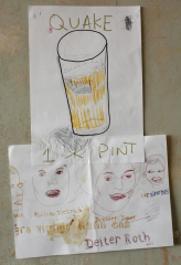 Pint-of-Quake-2013-Various-sizes-Mixed-media-on-paper