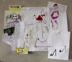 WOW-2013-Various-sizes-Mixed-media-on-paper