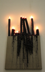 Black-Candle-Magic-2009-Magick-spell-on-canvas