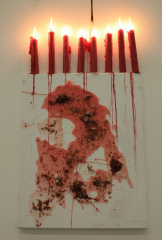 Red-Candle-Magic-2009-Magick-spell-on-canvas