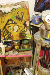 Mountain-of-the-Cannibal-God-Goddess-2011-Installation-view-k-Teesdale-Street-Studios-Bethnal-Green