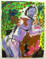 Babe-on-Simon-Cowells-Mind-2010-2010-Mixed-media-on-canvas