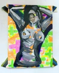 Cheryl-Cole-Tits-2010-Mixed-media-on-canvas