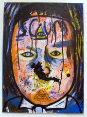 David-Scum-Cameron-2010-Mixed-media-on-canvas