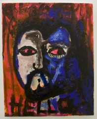 Hello-Peter-You-Will-Die-In-Prison-Broadmoor-2010-Acrylic-pumice-oil-and-varnish-on-canvas