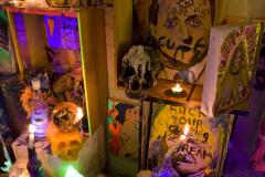 Shrine-to-the-Voudou-god-2011-Installation-view-f-Aubin-Cinema-Shoreditch