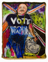 Vote-Wagner-2010-Mixed-media-on-canvas