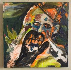 Zara-Phillips-Tenebrae-2012-Oil-acrylic-glitter-stars-on-canvas