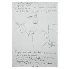 Bob-Ross-2019-594mm-x-420mm-Graphite-on-paper