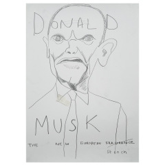 Donald-Musk-2019-594mm-x-420mm-Graphite-on-paper