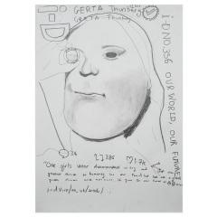 Gerta-Greta-the-Great-2019-594mm-x-420mm-Graphite-on-paper