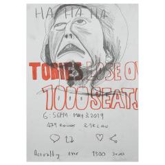 Ha-Ha-Ha-2019-594mm-x-420mm-Graphite-on-paper
