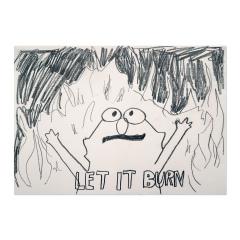 Let-it-Burn-2019-594mm-x-420mm-Graphite-on-paper
